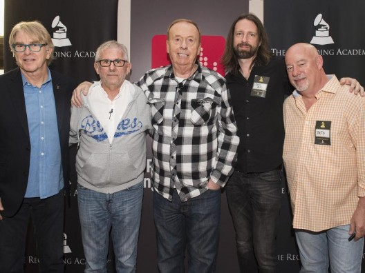 (L-R) Jon Hornyak, Elliot Scheiner, Geoff Emerick, Chris Bell, Reid Wick. Photo by: Erika Goldring | WireImage